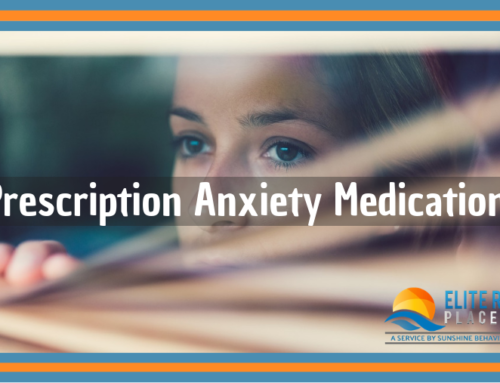 What you Need to Know About Prescription Anxiety Medications