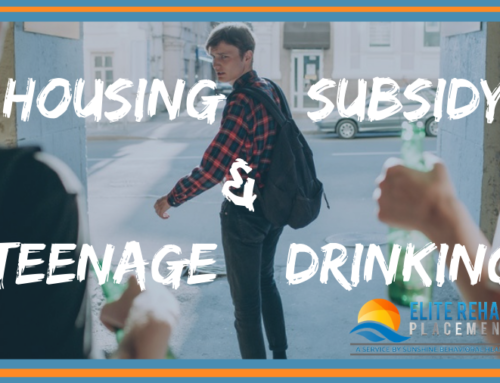 Housing subsidy programs and teenage binge drinking