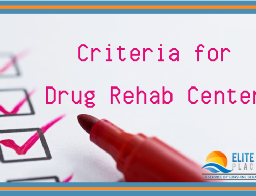 Criteria for Drug Rehab Centers